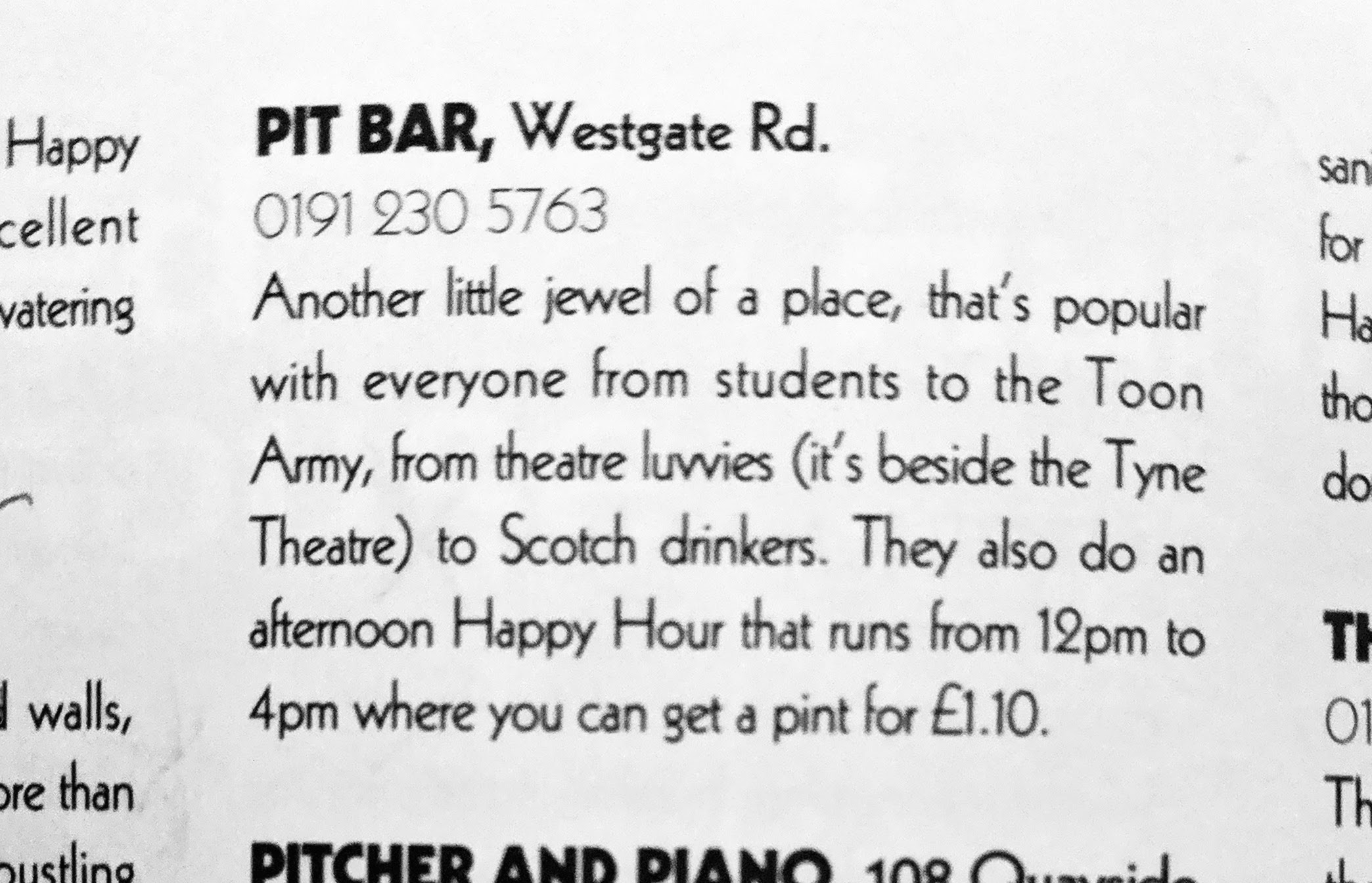 review of the the pit bar